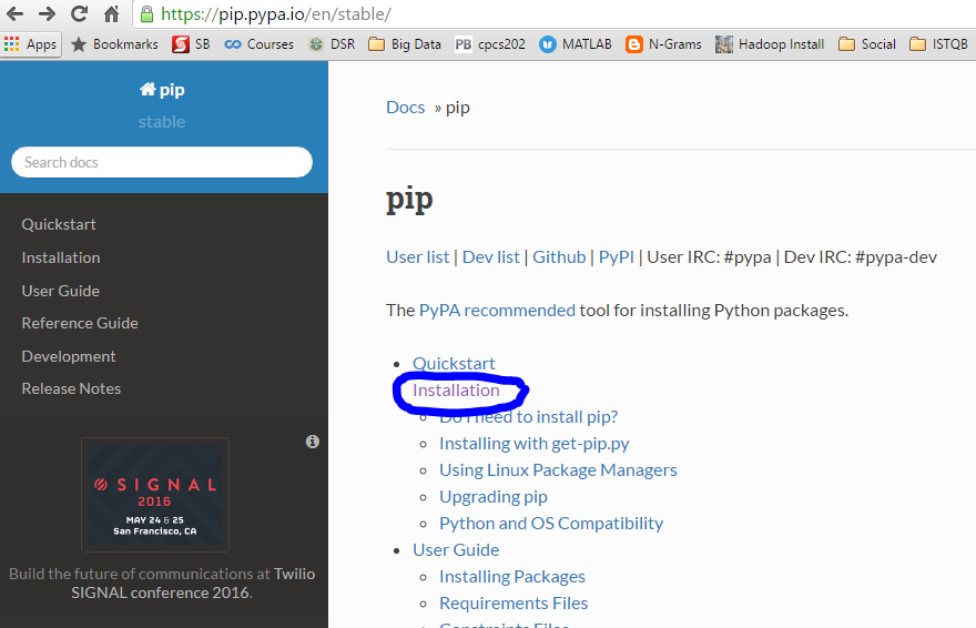 Install pip windows 10 | Installing a Python pip package on